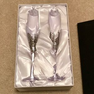 Other - Things Remembered Toasting Flutes- Set of 2